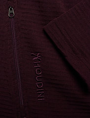 Houdini - W's Wooler Houdi college grey XS - keskikerros villasta - raspberry rush red - 5