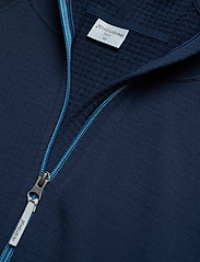 Houdini - M's Wooler Houdi college grey S - wool midlayer - blue illusion - 2