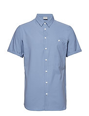 M's Shortsleeve Shirt - UP IN THE BLUE