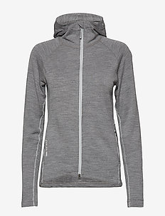 W's Wooler Houdi college grey XS - mid layer-takit - college grey