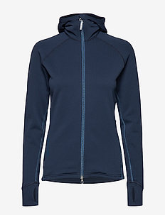 W's Power Houdi - mid layer-takit - blue illusion/tide