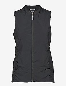 W's Venture Vest - frilufts- og regnjakker - true black