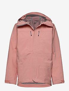 W's RollerCoaster Jacket - jakker og regnjakker - beaker pink