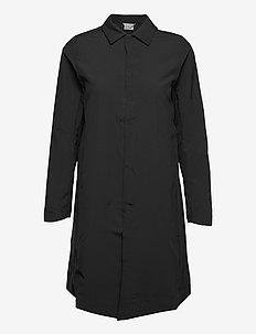 W's Nomad Parka blue illusion XS - outdoor & rain jackets - true black