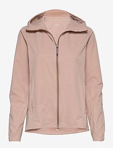 W's Daybreak Jacket - softshell-takki - powder pink