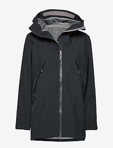 W's Leeward Jacket - TRUE BLACK