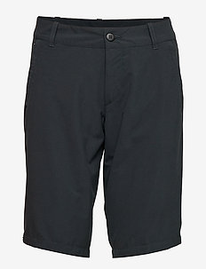 W's MTM Thrill Twill Shorts - ROCK BLACK
