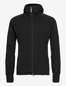 M's Mono Air Houdi willow green S - basic sweatshirts - true black