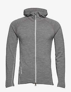 M's Wooler Houdi - mid layer-takit - college grey
