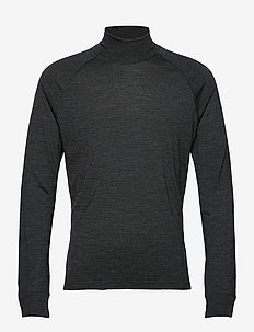 M's Activist Turtleneck - funktionsunterwäsche - oberteile - true black