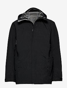 M's D Jacket - ulkoilu- & sadetakit - true black