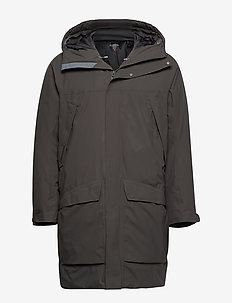 M's Fall in Parka baremark green S - thermojacken - baremark green