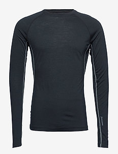 M's Desoli Crew - base layer tops - true black
