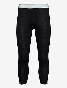 M's DeSoli 3/4 - base layer bottoms - true black