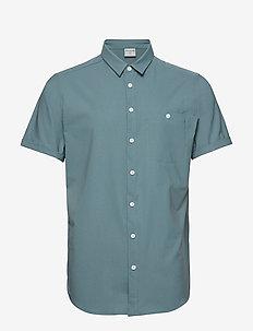 M's Shortsleeve Shirt - STORM GREEN