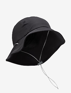 Gone Fishing Hat true black S/M - bucket hats - true black