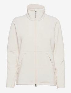 W'sono Air Jacket - fleece - powderday white