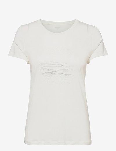 W's Tree Message Tee powderday white XL - t-shirts - powderday white