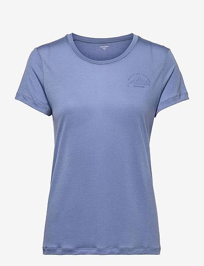 W's Tree Message Tee powderday white XL - t-shirts - true blue