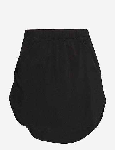 W's Duffy Skirt true black XS - korte rokken - true black