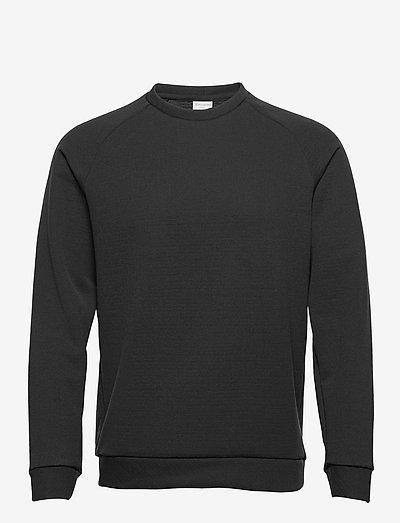 M'sono Air Crew - sweats basiques - true black