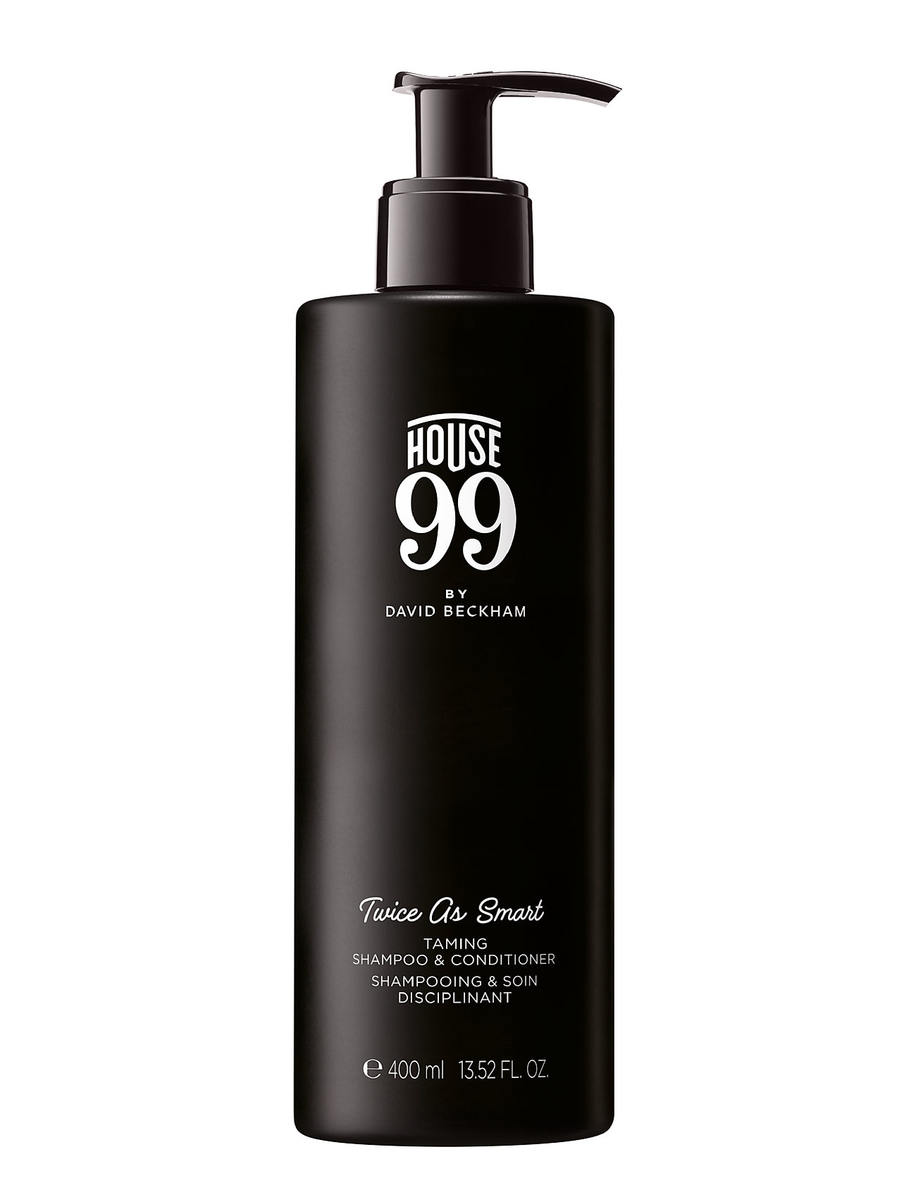 House 99 House 99 Twice As Smart - Shampoo and Conditioner 400 ml - CLEAR