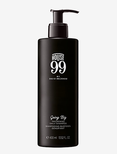 House 99 Going Big - Thickening Daily Shampoo  400 ml - CLEAR