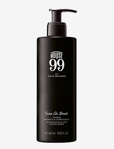 House 99 Twice As Smart - Shampoo and Conditioner 400 ml - CLEAR