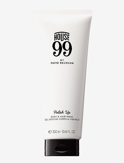 House 99 Polish Up - Body & Hair Wash 300 ml - bad - clear