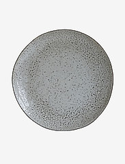 house doctor - Rustic Cake plate - serveringsfat - grey/blue - 0