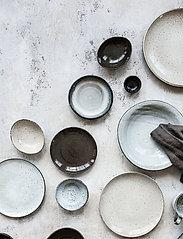 house doctor - Rustic Cake plate - serveringsfat - grey/blue - 3