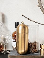 house doctor - Alir Shaker - cocktail shakere - brass finish - 0