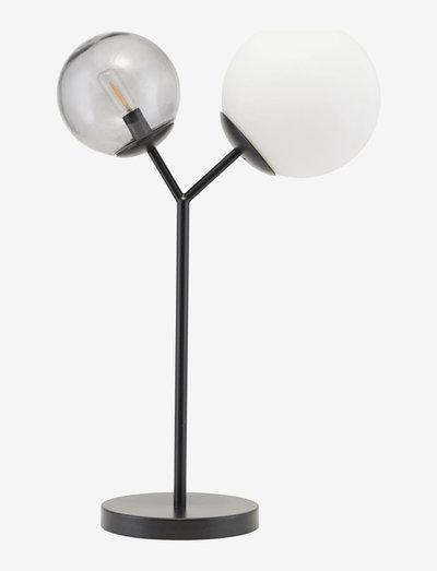 Twice Table lamp - bordlamper - black