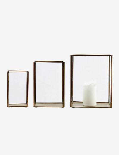 Pillar Lantern - utendørsbelysning - brass