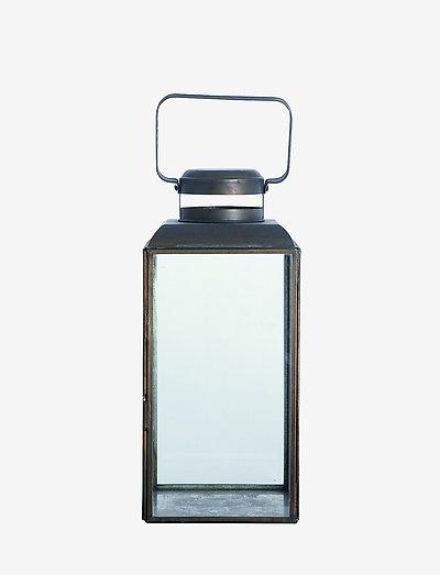 Vintage Lantern - utendørsbelysning - black antique