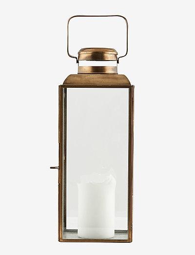 Vintage Lantern - utendørsbelysning - brass