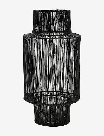 Tabia Lantern - utendørsbelysning - black