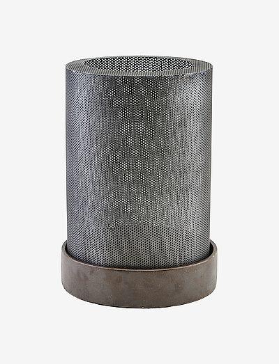 Bash Lantern - utendørsbelysning - antique zinc