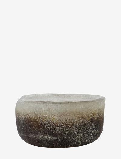 Pearl Tealight holder - lyslykter - grey