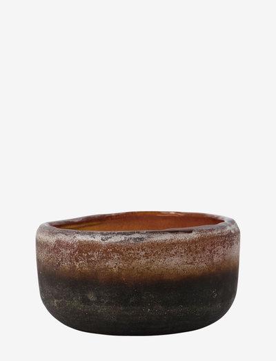 Pearl Tealight holder - lyslykter - brown