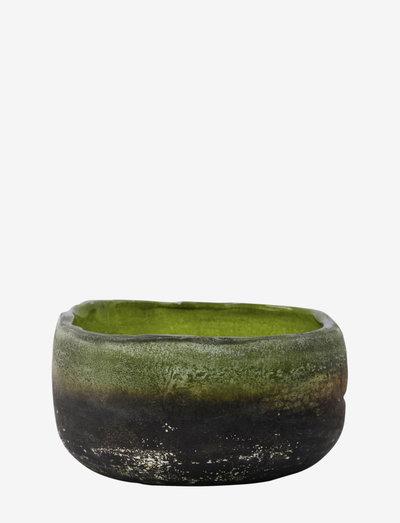 Pearl Tealight holder - lyslykter - green
