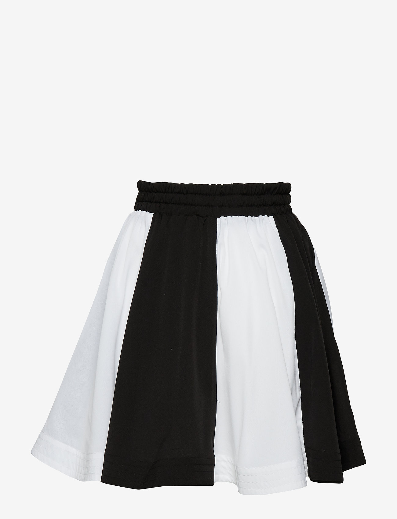 How to kiss a frog - wind skirt - skirts - off white/black panel