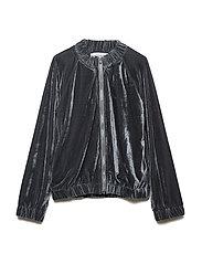 BELLA jacket - GREY VELVET