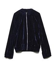 BELLA jacket - NAVY VELVET