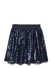 sparkle skirt - NAVY
