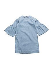 Trine dress - Denim blue