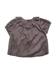 Suri blouse - DARK GREY