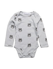 Body print TIGER - GREY