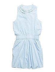 POKI DRESS - Ice blue
