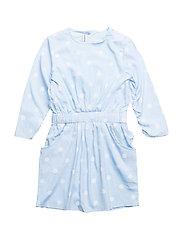 HAYLEY DRESS - Blue dot